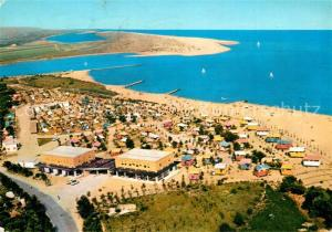 AK / Ansichtskarte Jesolo_Pineta Camping Motel Adriatica Fliegeraufnahme Jesolo Pineta