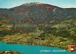 AK / Ansichtskarte Bodensdorf_Ossiacher_See Gerlitzen Alpenstrasse  Bodensdorf_Ossiacher_See
