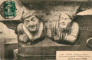 AK / Ansichtskarte Vannes Vannes et sa femme Maison ayant apparteau a Gilles de Bretagne Vannes