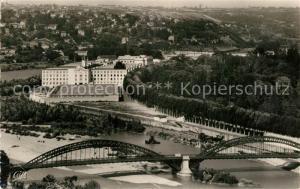 AK / Ansichtskarte Lyon_France Pont de la Boucle et le Palais de la Foire Lyon France
