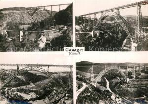 AK / Ansichtskarte Garabit_Viaduc_Construction_Eiffel Ligne de Beziers a Clermont Ferrand Commune de Faverolles