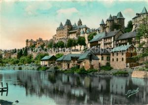 AK / Ansichtskarte Uzerche Vieux Chateau sur la Vezere Uzerche