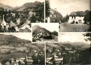 AK / Ansichtskarte Mandailles Saint Julien et le Puy Mary  Mandailles Saint Julien