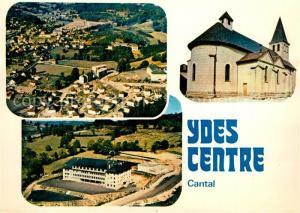 AK / Ansichtskarte Ydes Vue generale College nationalise Eglise Ydes