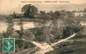 AK / Ansichtskarte Serres sur Arget Pont de Balanca Vallee de la Barguillere Serres sur Arget