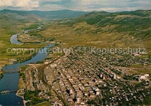 AK / Ansichtskarte Kamloops Fliegeraufnahme Kamloops