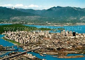 AK / Ansichtskarte Vancouver_British_Columbia Fliegeraufnahme Vancouver_British