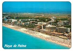 AK / Ansichtskarte Playa_de_Palma_Mallorca Fliegeraufnahme Playa_de_Palma_Mallorca