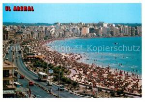 AK / Ansichtskarte El_Arenal_Mallorca Fliegeraufnahme El_Arenal_Mallorca