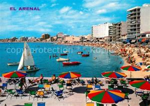 AK / Ansichtskarte El_Arenal_Mallorca Hotelanlagen Strand El_Arenal_Mallorca