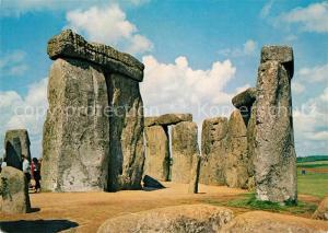 AK / Ansichtskarte Wiltshire_UK Stonehenge Wiltshire UK