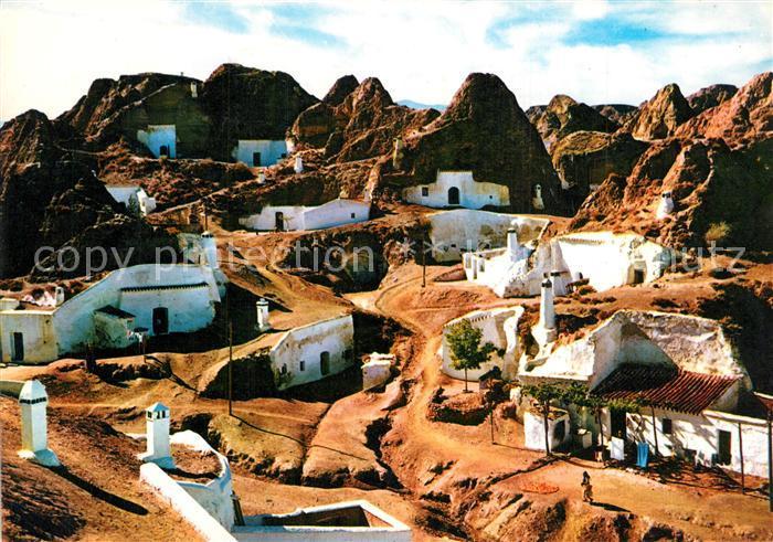 AK / Ansichtskarte Guadix Grotten Guadix 0
