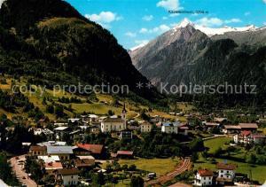 AK / Ansichtskarte Kaprun Panorama Kirche Kaprun