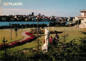 AK / Ansichtskarte Reykjavik Panorama Park Reykjavik