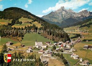 AK / Ansichtskarte Filzmoos Panorama Bischofsmuetze Filzmoos