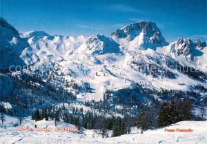 AK / Ansichtskarte Nassfeld Winterlandschaft Passo Pramollo Nassfeld