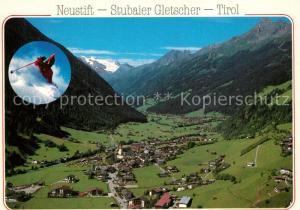AK / Ansichtskarte Neustift_Stubaital_Tirol Fliegeraufnahme Neustift_Stubaital_Tirol