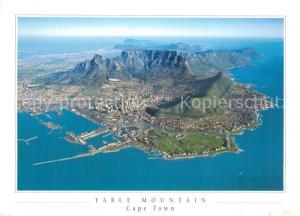 AK / Ansichtskarte Cape_Town_Kaapstad_Kapstadt Fliegeraufnahme Cape_Town