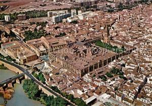 AK / Ansichtskarte Cordoba_Andalucia Fliegeraufnahme Cordoba Andalucia
