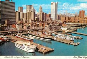 AK / Ansichtskarte New_York_City Seaport Museum New_York_City