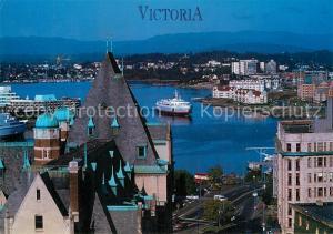 AK / Ansichtskarte Victoria_British_Columbia Hafen Victoria_British_Columbia