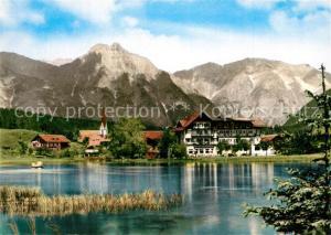 AK / Ansichtskarte Seefeld_Tirol Wildsee Panorama Seefeld Tirol
