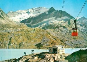 AK / Ansichtskarte Stubachtal_Tirol Tauernmoos See Stubach Seilbahn Hoher Riffel Totenkopf Stubachtal Tirol