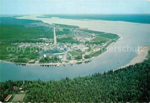 AK / Ansichtskarte Moose_Jaw Fliegeraufnahme General Hospital James and Hudson Bay Moose_Jaw