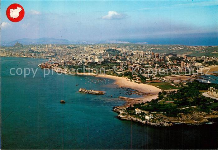 AK / Ansichtskarte Santander Fliegeraufnahme Santander 0