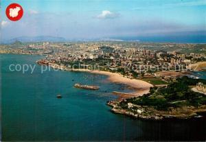 AK / Ansichtskarte Santander Fliegeraufnahme Santander
