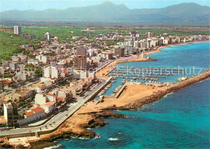 AK / Ansichtskarte Can_Picafort_Mallorca Fliegeraufnahme Can_Picafort_Mallorca 0