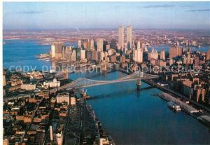 AK / Ansichtskarte New_York_City Twin Towers New_York_City