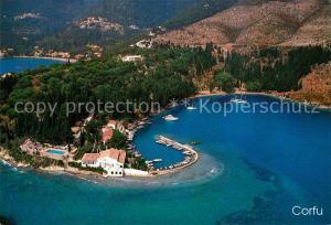 AK / Ansichtskarte Corfu_Korfu Fliegeraufnahme Corfu Korfu
