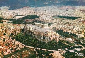 AK / Ansichtskarte Athens_Athen Fliegeraufnahme Athens Athen