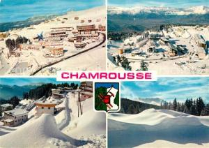 AK / Ansichtskarte Chamrousse Station olympique Sports d hiver Alpes Francaises Chamrousse