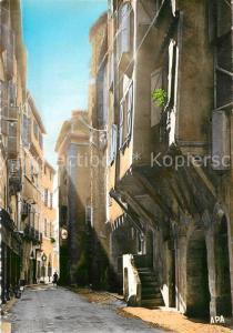 AK / Ansichtskarte Figeac Rue Seguier Figeac