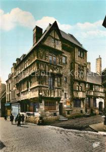 AK / Ansichtskarte Bayeux Vieille Maison Rue Saint Martin Bayeux