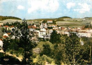 La_Louvesc Vue generale Nord Est Basilique Saint Regis les Hotels et Villa Notre Dame La_Louvesc