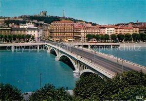 Lyon_France Pont Wilson sur le Rhone Lyon France