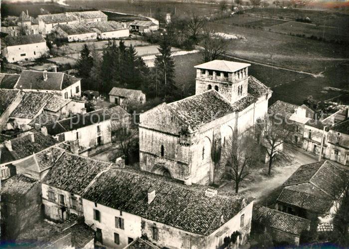 Vieux Mareuil Eglise et la Bourg Vue aerienne Vieux Mareuil 0