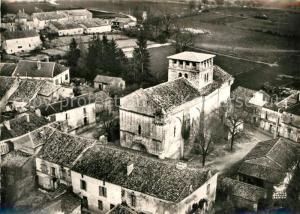 Vieux Mareuil Eglise et la Bourg Vue aerienne Vieux Mareuil