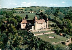 Virieu_sur_Bourbre Vue aerienne aerienne Le Chateau Virieu_sur_Bourbre
