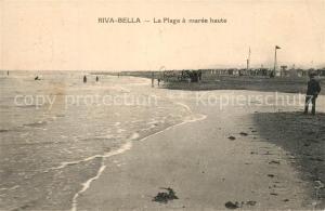 Riva Bella La Plage a maree haute Riva Bella