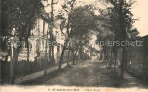 Saint Aubin sur Mer_Calvados Avenue Roger Saint Aubin sur Mer