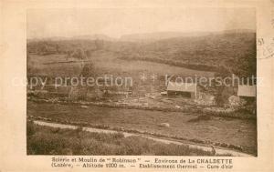 AK / Ansichtskarte Brion_Lozere Moulin de Robinson La Chaldette Brion Lozere