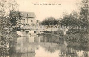 AK / Ansichtskarte Varennes Jarcy Pont Varennes Jarcy
