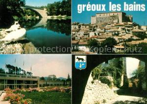 AK / Ansichtskarte Greoux les Bains Vues partielles de la Station thermale climatique et touristique Greoux les Bains