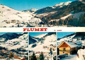 AK / Ansichtskarte Flumet Panorama Station de Sports d hiver Alpes Flumet