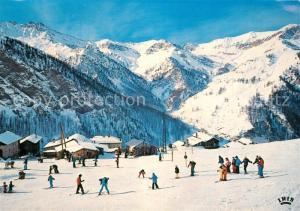 AK / Ansichtskarte Saint Veran Le plus haut village d Europe Sports d hiver Pistes Col des Estronques Saint Veran