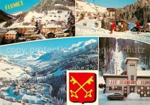 AK / Ansichtskarte Flumet Panorama Val d Arly Alpes Station de Sports d hiver Flumet